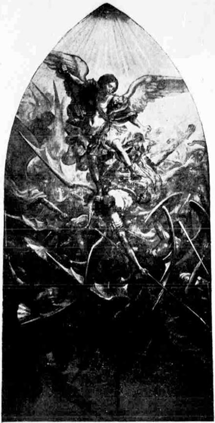 Mural, excerpt from The Vermont Phoenix, Brattleboro, Vermont, August 16, 1912. Source: U.S. Library of Congress.