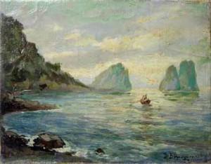 I Faraglioni painting