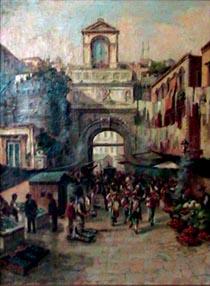 La Porta Capuana painting
