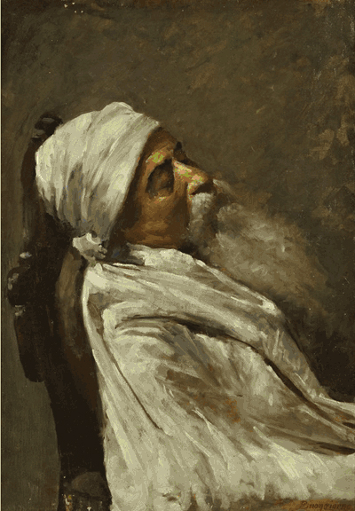 Sleeping Man painting