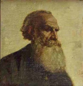Tolstoy painting