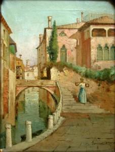 Venetian Veduta painting